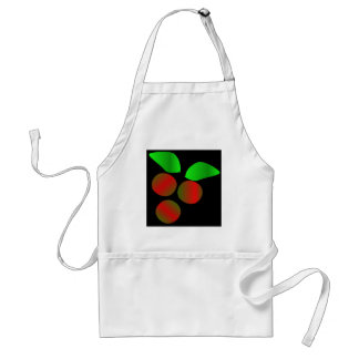 Christmas Holly Adult Apron