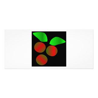 Christmas Holly IV Custom Rack Cards