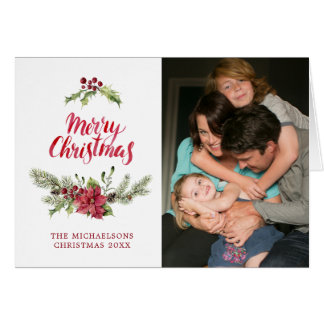 Christmas | Holly & Pines Festive Quote Card