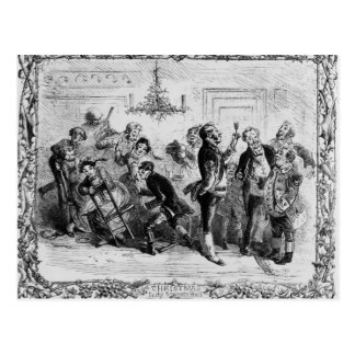 Christmas in the Servant's Hall Postcard