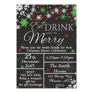 Christmas Invitation, Holiday Invitation