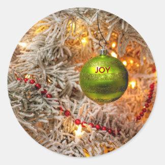 Christmas Joy Holiday Stickers