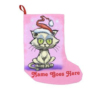Christmas Kitten Small Christmas Stocking
