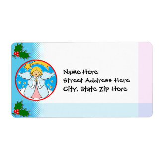 Christmas Label Shipping Label
