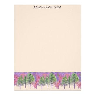 Christmas Letter 2009 Letterhead