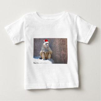 Christmas Monkeys and Baboons Baby T-Shirt