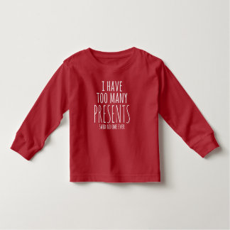 Christmas Morning Shirt for Toddlers