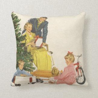 Christmas Morning Throw Cushions