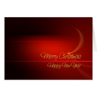 Christmas Motif Card, Standard Envelope included Note Card