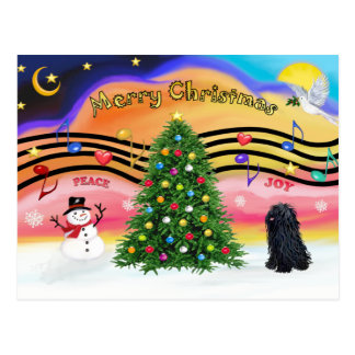 Christmas Music 2 - Pulli Postcard