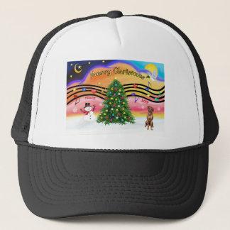 Christmas Music 2 - Rhodesian Ridgeback Trucker Hat
