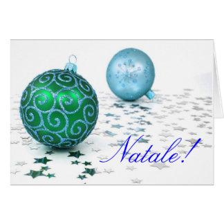 Christmas Natale II Greeting Card