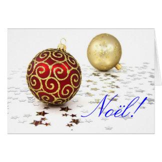 Christmas Noel Greeting Card