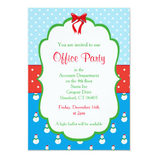 Christmas Office Party Invitation