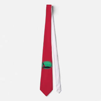 Christmas Orca Red Bow Peace Killer Whale Tie