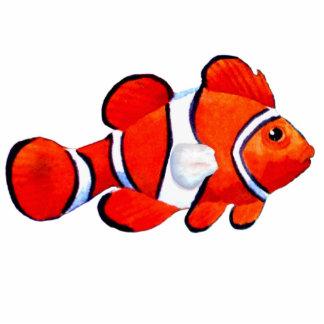 Christmas Ornament Fish Orange Photo Sculpture Decoration