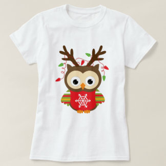 Christmas Owl T-Shirt