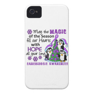 Christmas Penguins Sarcoidosis Case-Mate iPhone 4 Cases