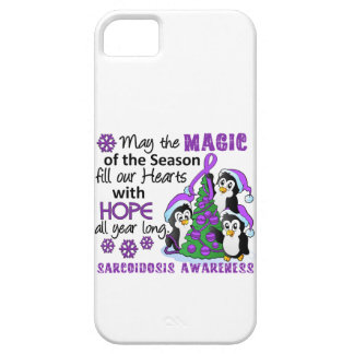 Christmas Penguins Sarcoidosis iPhone 5 Cases