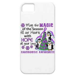 Christmas Penguins Sarcoidosis iPhone 5 Cover