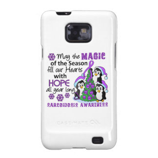 Christmas Penguins Sarcoidosis Samsung Galaxy S2 Case
