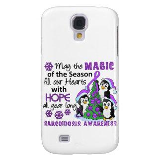 Christmas Penguins Sarcoidosis Samsung Galaxy S4 Case