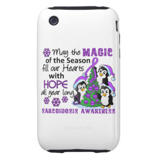 Christmas Penguins Sarcoidosis iPhone 3 Tough Covers