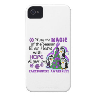 Christmas Penguins Sarcoidosis iPhone 4 Case
