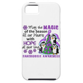 Christmas Penguins Sarcoidosis iPhone 5 Case