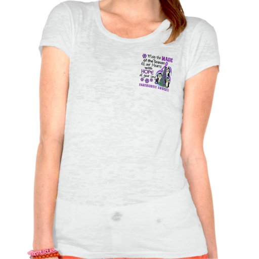 Christmas Penguins Sarcoidosis T Shirt