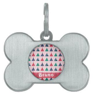 Christmas Pet Tag