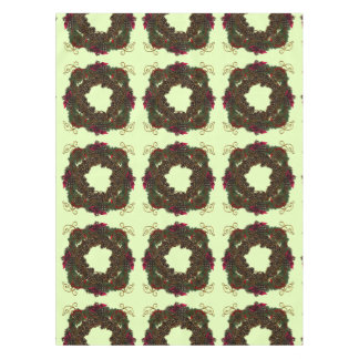 Christmas Pinecones Tablecloth