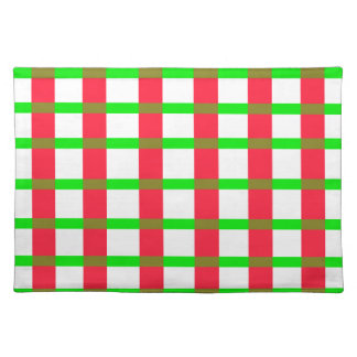 Christmas Plaid Placemat