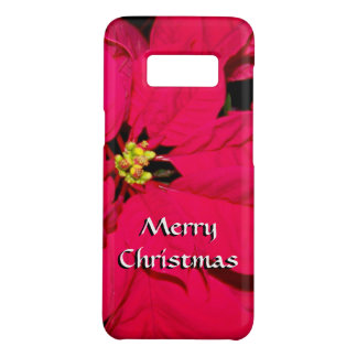 Christmas Poinsettia - Red Case-Mate Samsung Galaxy S8 Case