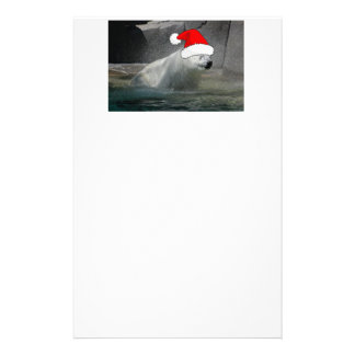 Christmas Polar Bears Stationery