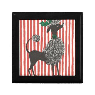 Christmas Poodle Gift Box