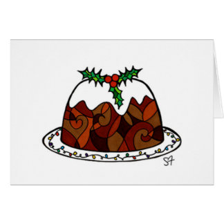 Christmas Pud Cards