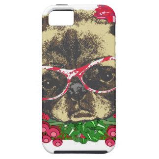 Christmas Pug iPhone 5 Cover