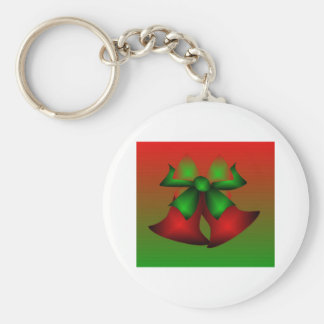 Christmas Red Bells Keychains