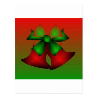 Christmas Red Bells Postcards