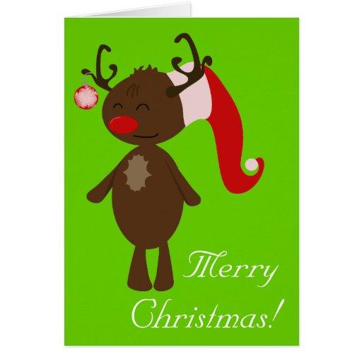 Christmas Reindeer Greeting Cards