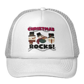Christmas Rocks T-shirts and Gifts Trucker Hat