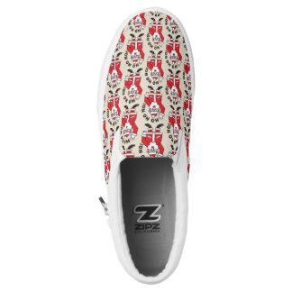 Christmas Santa Claus HO HO HO! 3.3 Slip-On Shoes