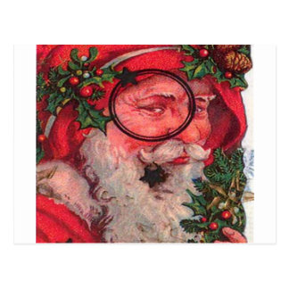 Christmas Santa - Customizable Post Card