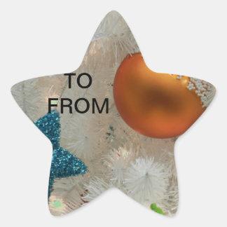 Christmas Santa Faith Love Peace Office Destiny Star Sticker