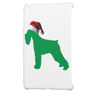 Christmas Schnauzer iPad Mini Case