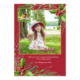 Christmas Season Photo Holiday Card
