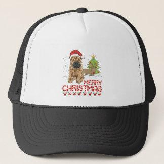 Christmas Shar Pei Trucker Hat