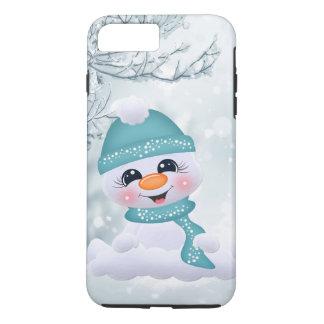 Christmas snowman holiday Festive iPhone 8/7 case