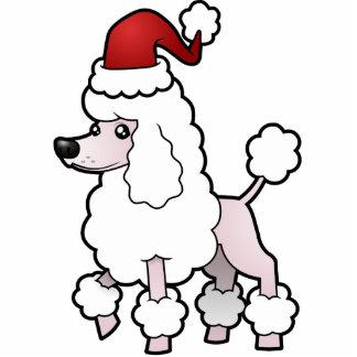 Christmas Standard/Miniature/Toy Poodle (show cut) Photo Sculpture Decoration